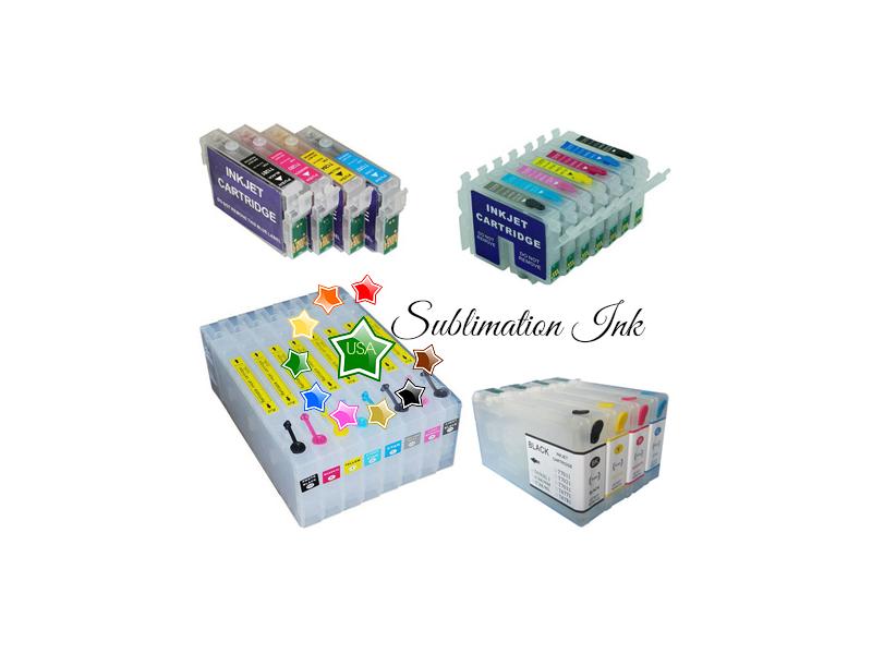 Sublimation cartridges.