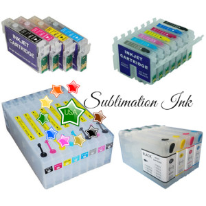 Sublimation Ink cartridges
