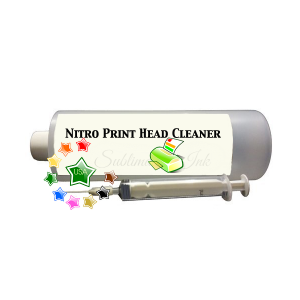 Nitro Print Head Cleaner for cleaning plugged print heads.